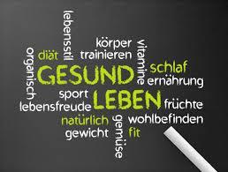 Gesund Leben Wir Lernen Deutsch
