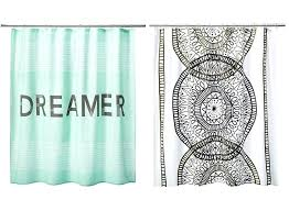 college shower curtains room essentials dreamer shower curtain in mint room essentials placed medallion shower college