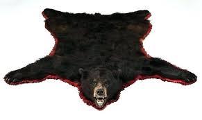 faux bear skin rug with head faux bear skin rug with head faux bear skin rug