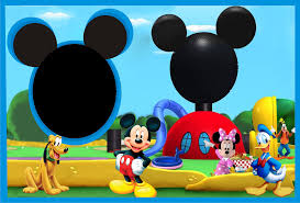 Mickey Mouse Picture Frame PNG (Page 4) - Line.17QQ.com