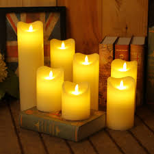 Multi Wick Candles Electronic Candles Dancing Promotion Shop For Promotional