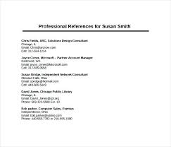 Reference Template For Resume Best Personal And Professional References References Personal And