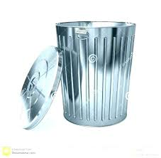 small metal trashcan trash can small silver garbage can metal trash cans kitchen garbage cans small size of turquoise