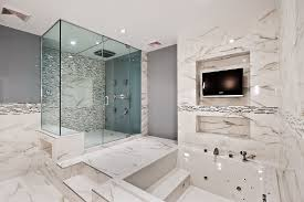 luxury modern bathrooms. Simple Modern This Is Another Example Of Elegant Usage Marble In A Modern Bathroom   With The Inside Luxury Modern Bathrooms I