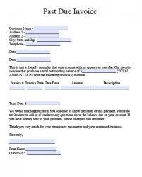 Past Due Bill Letter 014 Due Invoice Ndlob Tecnicidellaprevenzione
