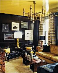 interiors fabulous chocolate and gold living room navy blue and