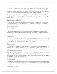 What To Put For Objective On A Resume Objective In A Resume Cliffordsphotography 91