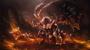 doom dota 2 fallen one set loading s wallpaper 10628