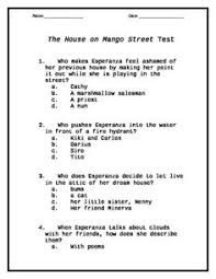 the house on mango street writing activity school the house on mango street test