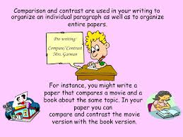 how to write a compare and contrast essay f or instance all of  when you contrast items you look for their differences the things that make them