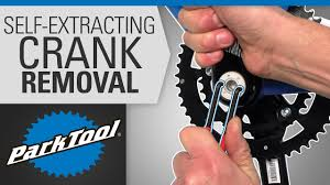 Crank Removal and Installation - Self Extracting - YouTube