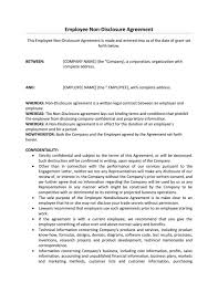 What is an employee agreement? Employee Confidentiality Agreement Template Addictionary