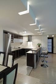 unique kitchen lighting ideas. kitchen idea of the day modern twotone kitchens very interesting lighting unique ideas
