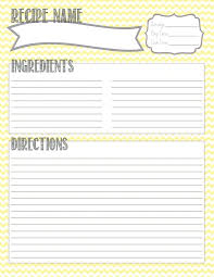 printable blank recipe cards blank recipe card template free full page index skincense co