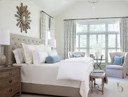 white bedroom with blue accents. Plain Bedroom Gray Bedroom With Blue Accents In White With H