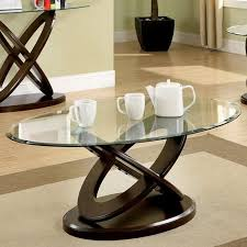 Wood, used as a famous material for creating different. Oval Glass Coffee Table Ideas On Foter