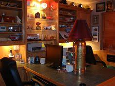 office man cave ideas. maybe your mancave is really a manoffice i like this idea quite bit over ff man cave check out the extinguisher lamp office ideas
