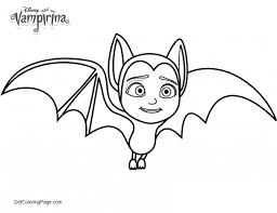 Awesome Vampirina Coloring Pages For Kids Get Coloring Page