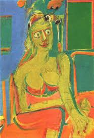 seated woman 2 1940 willem de kooning