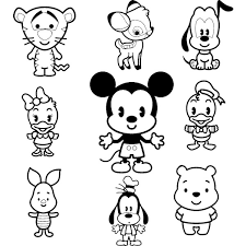 Small Picture Photo Collection Disney Cuties Coloring Pages