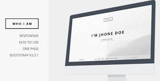 Who I Am Personal Resume And Portfolio Theme Klbtheme Premium