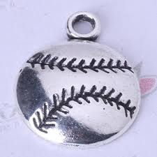 2019 sports baseball pendant fit bracelets or necklace retro silver bronze charms diy jewelry 134z from ydlsp 12 19 dhgate com