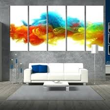 extra large abstract wall art uk