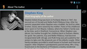 com stephen king king of horror appstore for android 0 00