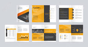Design With Company Template Layout Design With Cover Page For Company Profile Annual