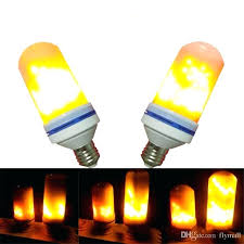 led flickering flame light bulbs beads simulated decorative atmosphere lighting decoration lamp bulb candelabra candle flicker