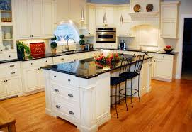 kitchen design colors. White Wooden Storage Cabinets Maple Wall Mounted Cabinet Brown Color Tiles Backsplash Beige Granite Countertop Traditional Kitchen Design Colors L
