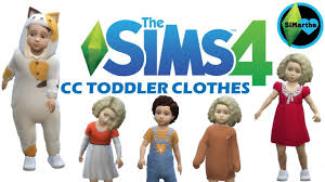 the sims 4 maxis match cc showcase toddler clothes 2 cc links