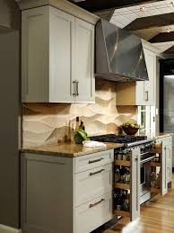 Diamond Vibe Cabinets A Contemporary Kitchen With Asian Flair Lauren Levant Hgtv