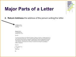 how to write a letter address slide 7