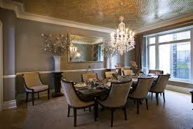elegant dinner table chandelier