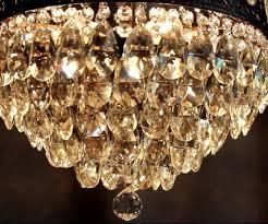 crystal chandelier antique brass light fixtures design ideas