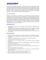 cnc machinist resume example cipanewsletter machinist resume