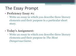 the literary analysis essay ppt video online  the essay prompt proficiency essay 1 today s assignment