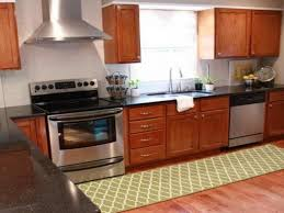 Kitchen Floor Rug How To Clean Up Washable Cotton Kitchen Rugs In Your Home Rafael