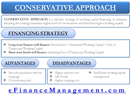 advantages of conservative strategy of working capital financing