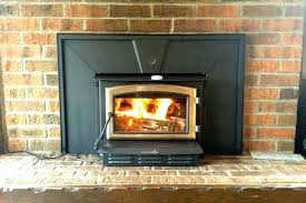 convert fireplace to wood burning gas fireplace conversion convert to wood burni on convert fireplace to