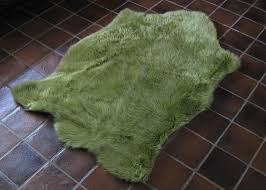 bear animal shape green faux fur rug 4393 x 6393 plush soft animal shaped childrens rugs