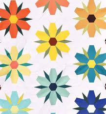 Paper Piecing Flower Flower Mania English Paper Piecing
