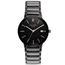 men s watch 257f489 stainless steel black ceramic pierre lannier men s watch 257f489 stainless steel black ceramic