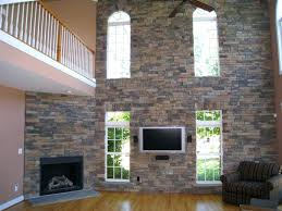 fireplace stone stone veneer into the glass interior faux panels fakes ideas for fireplace