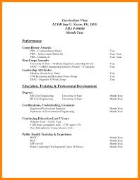 Standard Resume Format Doc Reference 15 Cv Format In Pdf