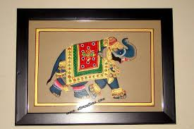 Small Picture Buy Wall Hanging Mysore Painting elephant unframed karnataka Art