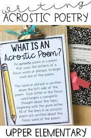 Acrostic Poem Templates Acrostic Poem For Kids Poetry