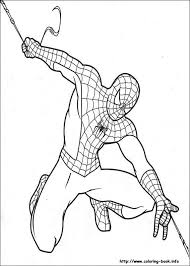 spiderman to color. Interesting Color Spiderman Coloring Pages To Color T