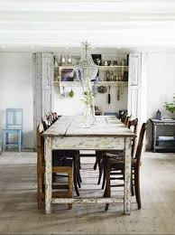 shabby chic dining sets. Elegant Distressed White Shabby Chic Antique Barn Dining Table Chandelier Sets S